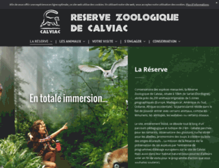 reserve-calviac.org screenshot