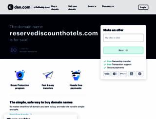 reservediscounthotels.com screenshot