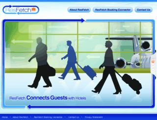 resfetch.com screenshot