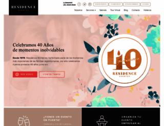 residence.com.mx screenshot