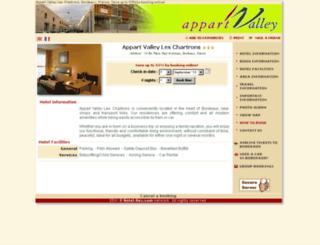 residencechartrons-bordeaux.com screenshot