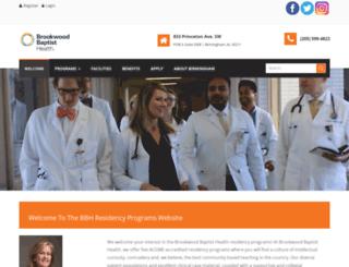 residency.bhsala.com screenshot