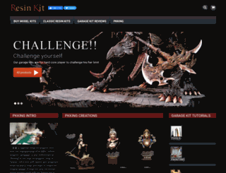 resin-kit.com screenshot