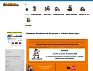 resines-et-moulages.com screenshot