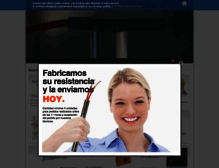 resistencias.com screenshot