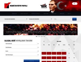 resmiistatistik.gov.tr screenshot