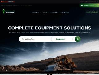 resolute-equipment.com screenshot