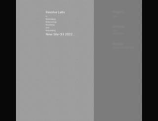 resolvelabs.com screenshot