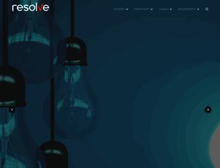 resolvesp.com screenshot