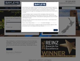 resortbrokers.co.nz screenshot