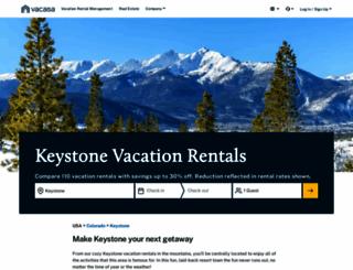 resortquestkeystone.com screenshot