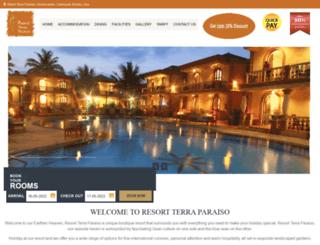 resortterraparaiso.com screenshot