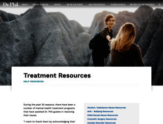 resource.drphil.com screenshot