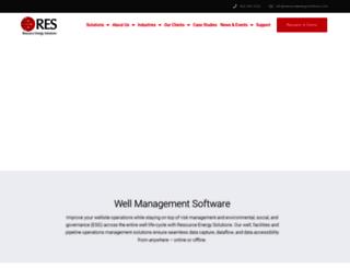resourceenergysolutions.com screenshot