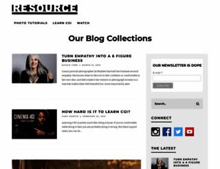 resourcemagonline.com screenshot
