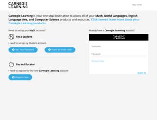 resources.carnegielearning.com screenshot
