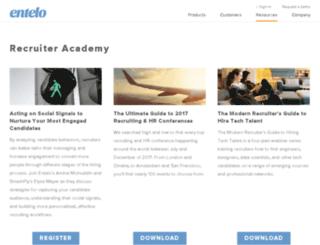 resources.entelo.com screenshot