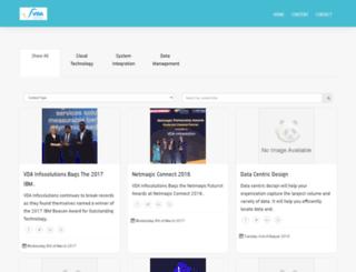 resources.vdainfosolutions.com screenshot