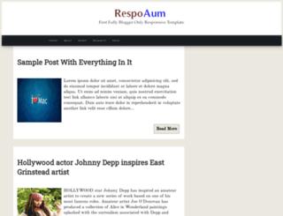 respoaum.blogspot.in screenshot