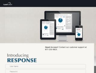 response.leadfusion.com screenshot