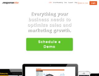 responsewise.com screenshot