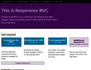 responsivemvc.net screenshot