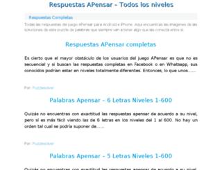 respuestasapensar.net screenshot