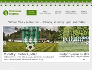 restauraceujezd.cz screenshot