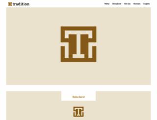 restaurangtradition.se screenshot