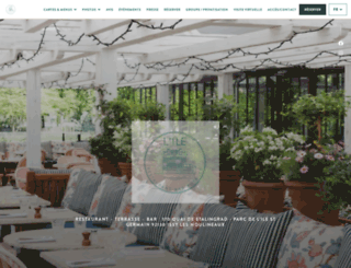 restaurant-lile.com screenshot