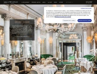 restaurant-precatelan.com screenshot