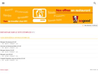 restaurant.emploi-kfc.fr screenshot