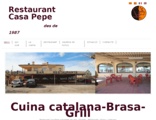 restaurantcasapepe.com screenshot