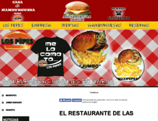 restaurantemurcia.es screenshot