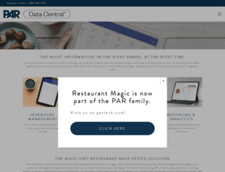 restaurantmagic.com screenshot
