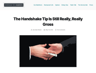 restaurantmanifesto.com screenshot