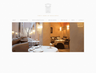 restaurantpatrickguilbaud.ie screenshot