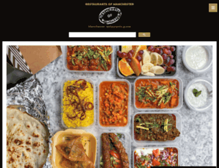 restaurantsofmanchester.com screenshot