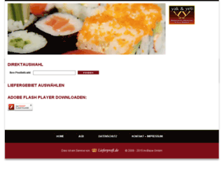restaurantyakyeti.de screenshot