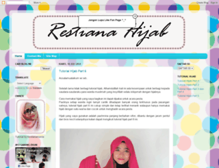 restiana-hijab.blogspot.com screenshot