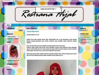 restiana-hijab.blogspot.com screenshot