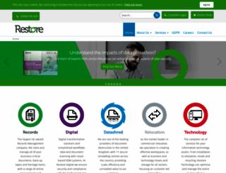 restore.co.uk screenshot