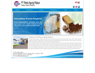 restuagungwijaya.com screenshot