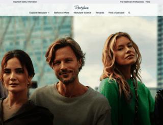 restylaneusa.com screenshot