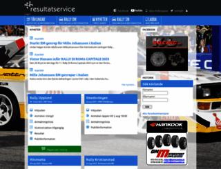 resultatservice.com screenshot