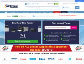 results.printerbase.co.uk screenshot