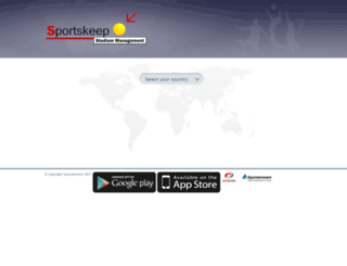 results.sportskeepglobal.com screenshot
