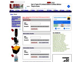 results.urduwire.com screenshot