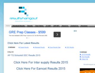 resultshangout.com screenshot