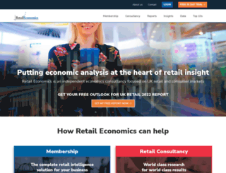 retaileconomics.co.uk screenshot